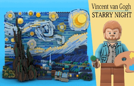 Starry Night LEGO Set