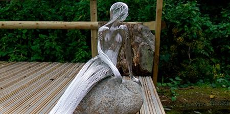Steel Wire Mermaid