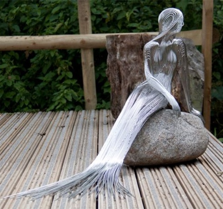 Wire Mermaid