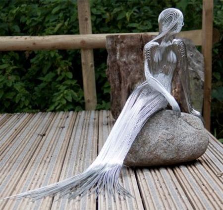 Wire Mermaid