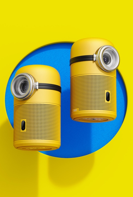 Minion Shaped Projector