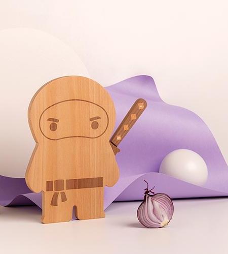 Ninja Board and Knife