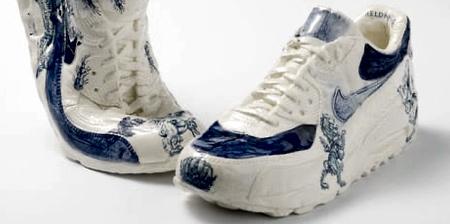Porcelain Nike Shoes