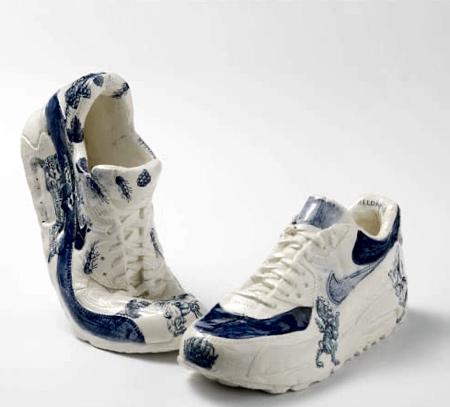 Rielle Beekmans Porcelain Nike Shoes
