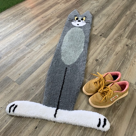 Flat Tom and Jerry Rug