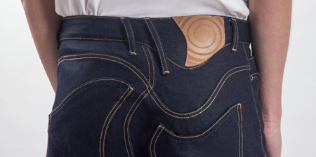 Twisted Denim Jeans