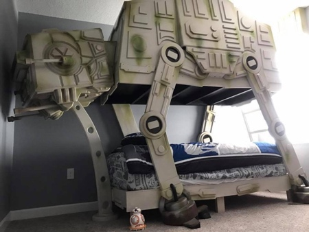 Star Wars AT-AT Walker Bed