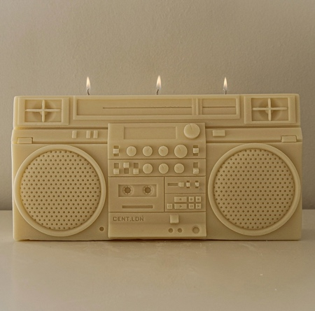 BOOMBOX Shaped Candle