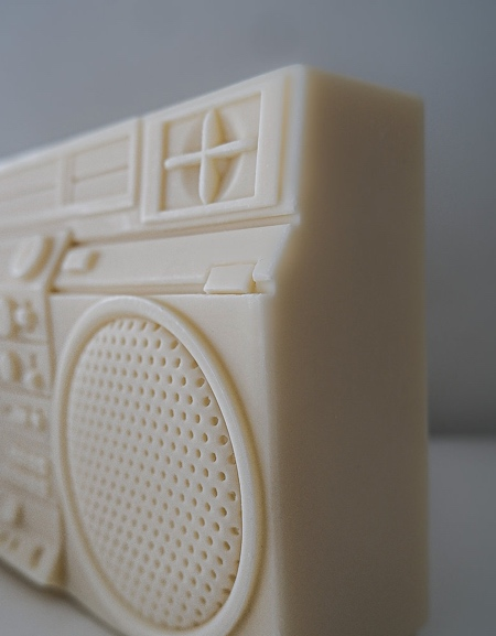 BOOMBOX Inspired Candle
