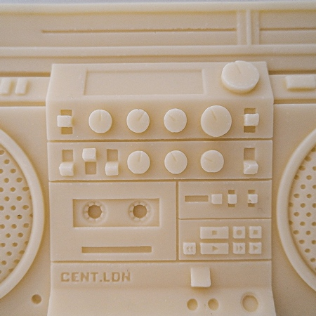 RC M90 BOOMBOX Candle