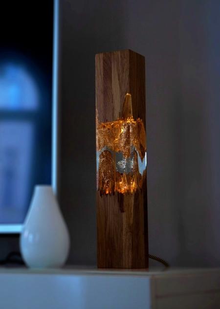 HungarianWood Broken Wood Lamps