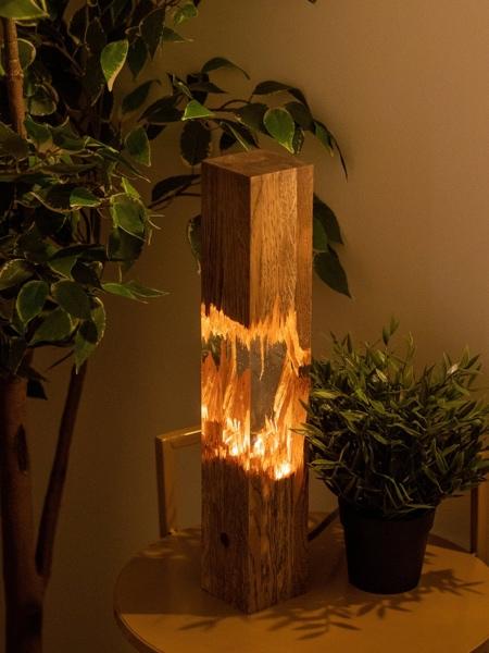 HungarianWood Broken Wood Lamp