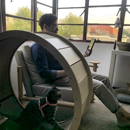 Cat Exercise Wheel Chair