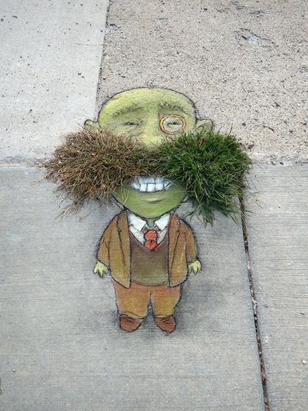 Temporary Street Art