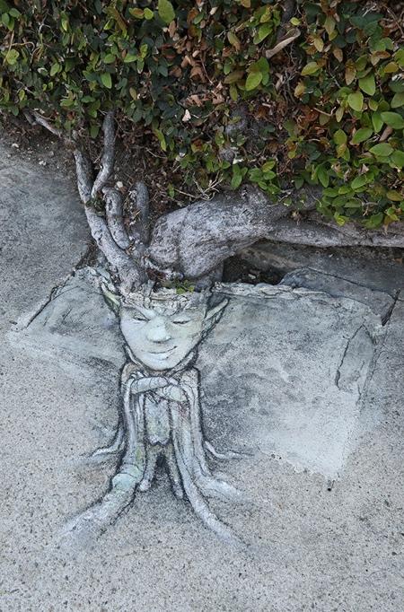 David Zinn Chalk Art