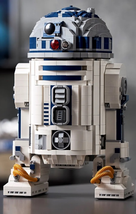 R2-D2 Made of LEGO