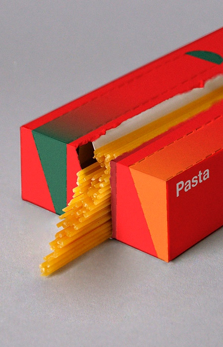 Portion Control Pasta Packaging