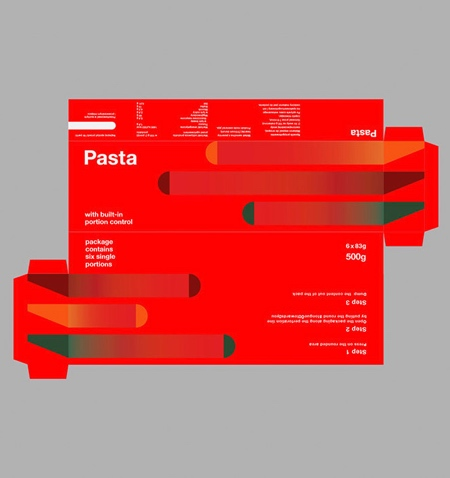Portion Control Spaghetti Packaging