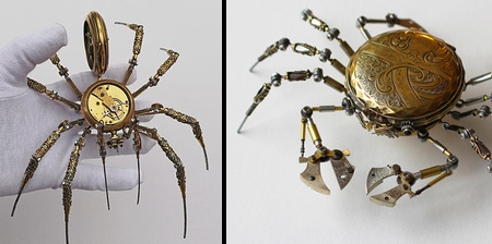 Steampunk Spiders