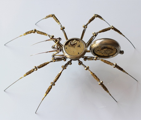Peter Szucsy Steampunk Spider
