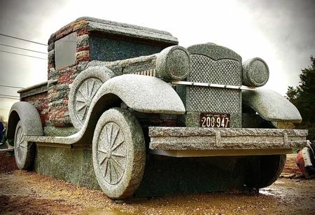 Trucks Made of Stones