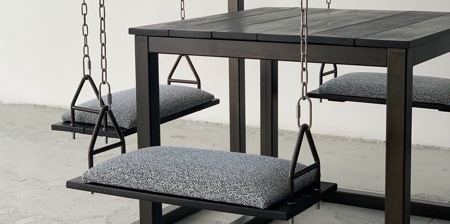 Table with Swings
