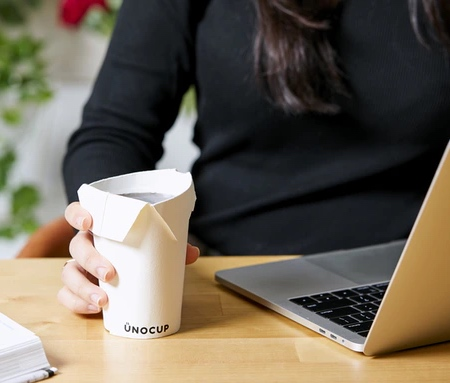Foldable Paper Cup
