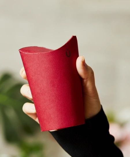 No-Lid Coffee Cup