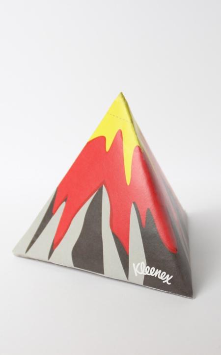 Volcano Tissue Dispenser
