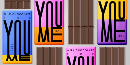 YOU ME Chocolate Packaging