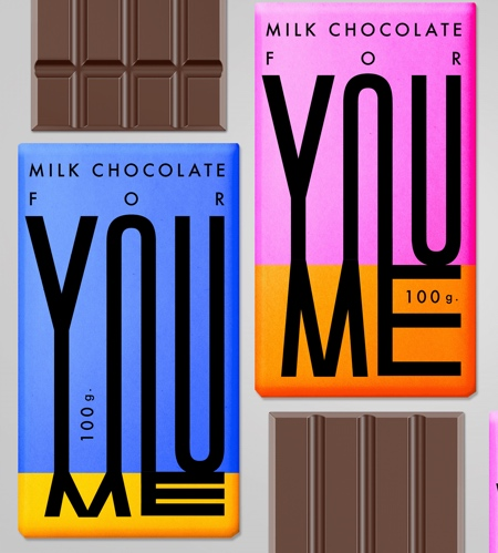 YOU and ME Chocolate Packaging