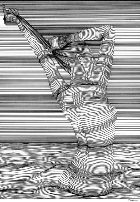 3D Line Drawing