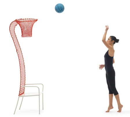 Basketball Hoop Chair