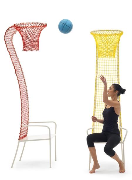 Emanuele Magini Lazy Basketball Chair