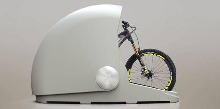 Bicycle Storage Capsule