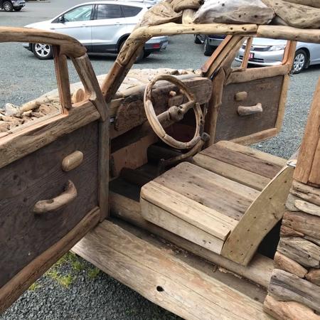 Driftwood VW Beetle Car