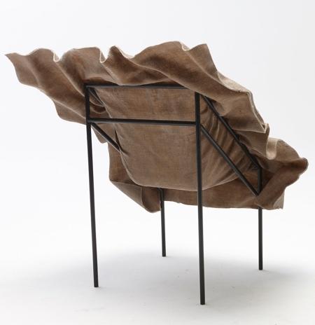 Frozen Textile Chair