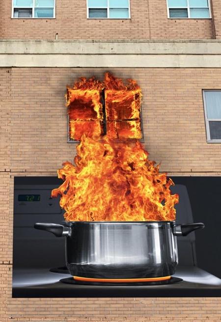 Fire Billboard