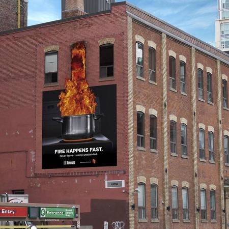 Building on Fire Billboard