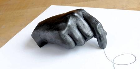 Graphite Sculptures