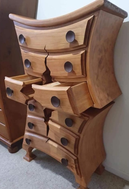 Cracked Furniture