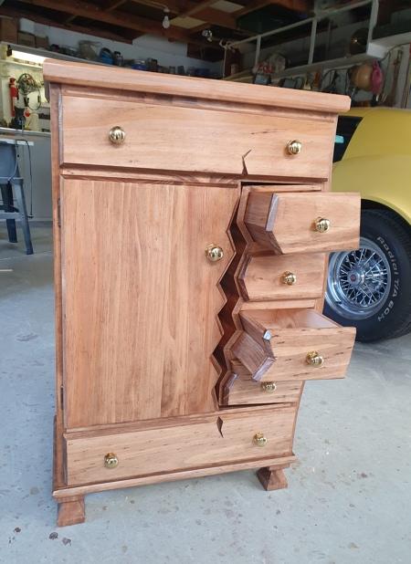 Henk Verhoeff Twisted Furniture