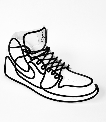 One Line Nike Shoes