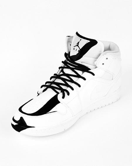 Continuous Line Nike Shoes