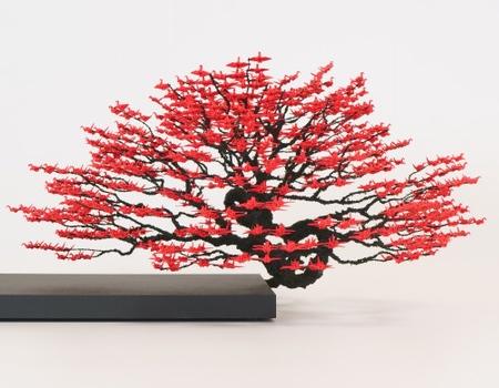 Paper Crane Bonsai Tree