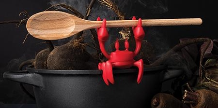 RED Crab Spoon Holder