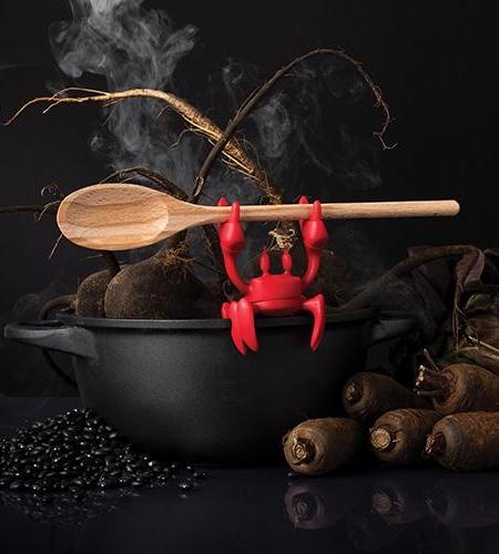 نگهدارنده  قاشق با ظرح خرچنگ