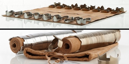 Roll Up Chess Set
