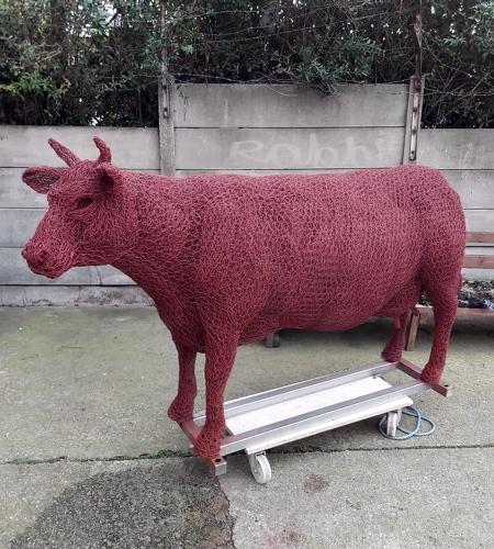 حیوانات درست شده از سیم
