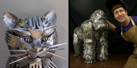 Forks and Spoons Art